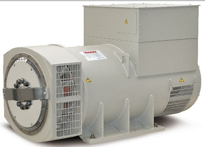 Conpound 600kw / 750kva Electric Alternators For MTU Generator Set 190V ~ 454V
