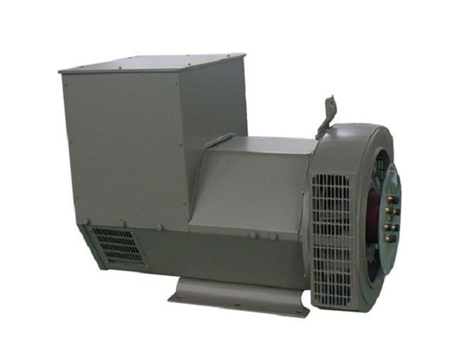 80kw / 80kva Effeciency Brushless Single Phase AC Generator / Self-excited Alternator